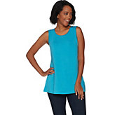 H by Halston Essentials Crew Neck Knit Tank - A300835