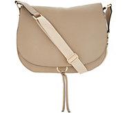 Vince Camuto Leather Shoulder Bag - Barna - A304535
