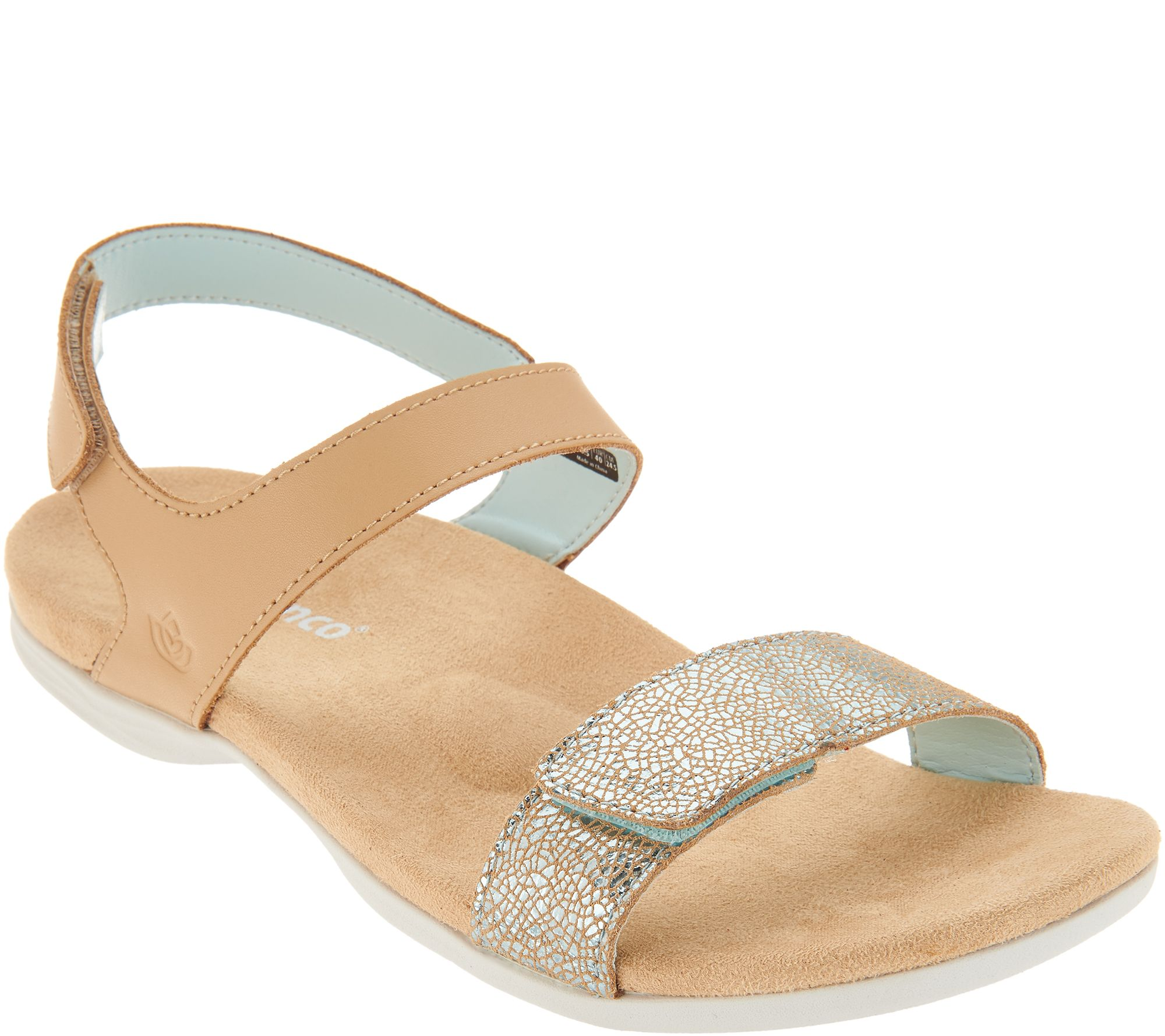 d8d39da28ffb9 Spenco Orthotic Adjustable Backstrap Sandals - Milan - Page 1 — QVC.com