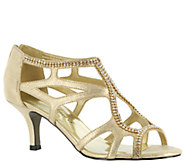 Easy Street Strappy Evening Sandals - Flattery - A333735