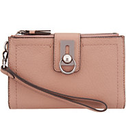 Vince Camuto Leather Wristlet Wallet - Sanna - A342335