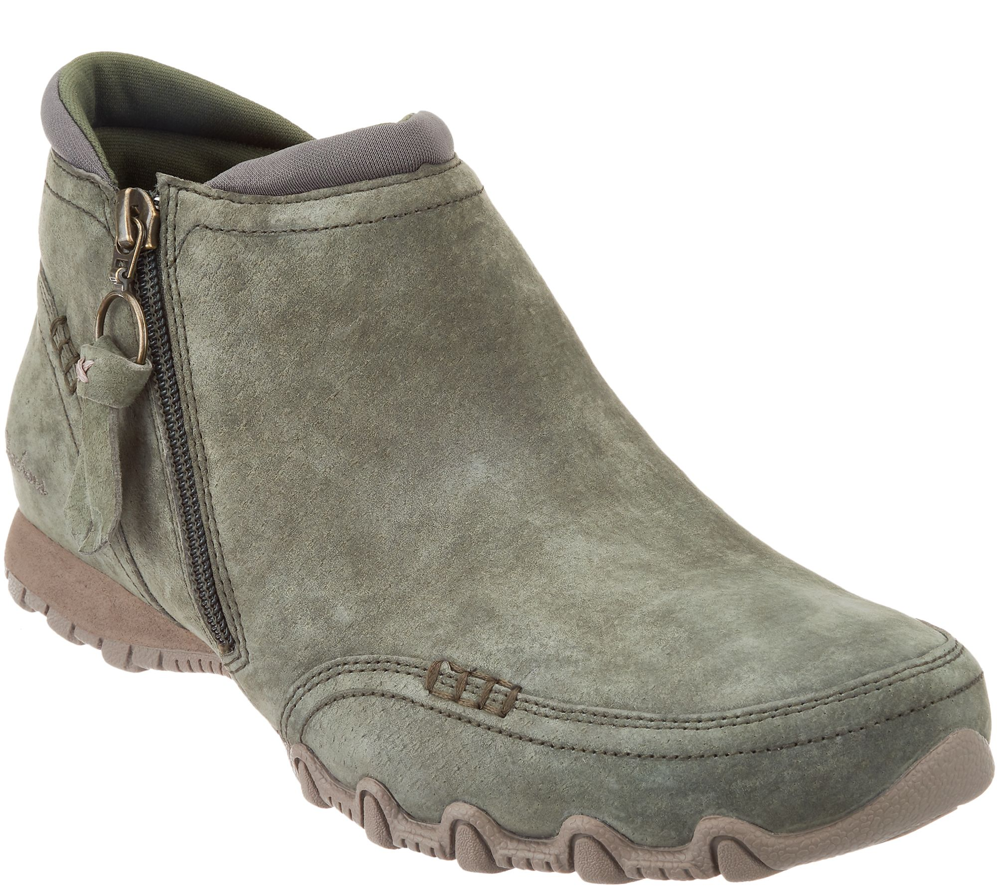 2415e1081 Skechers Relaxed Fit Suede Ankle Boots - Zappiest - Page 1 — QVC.com