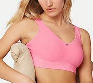 As Is Breezies Seamless Comfort Wirefree Bra - A345635