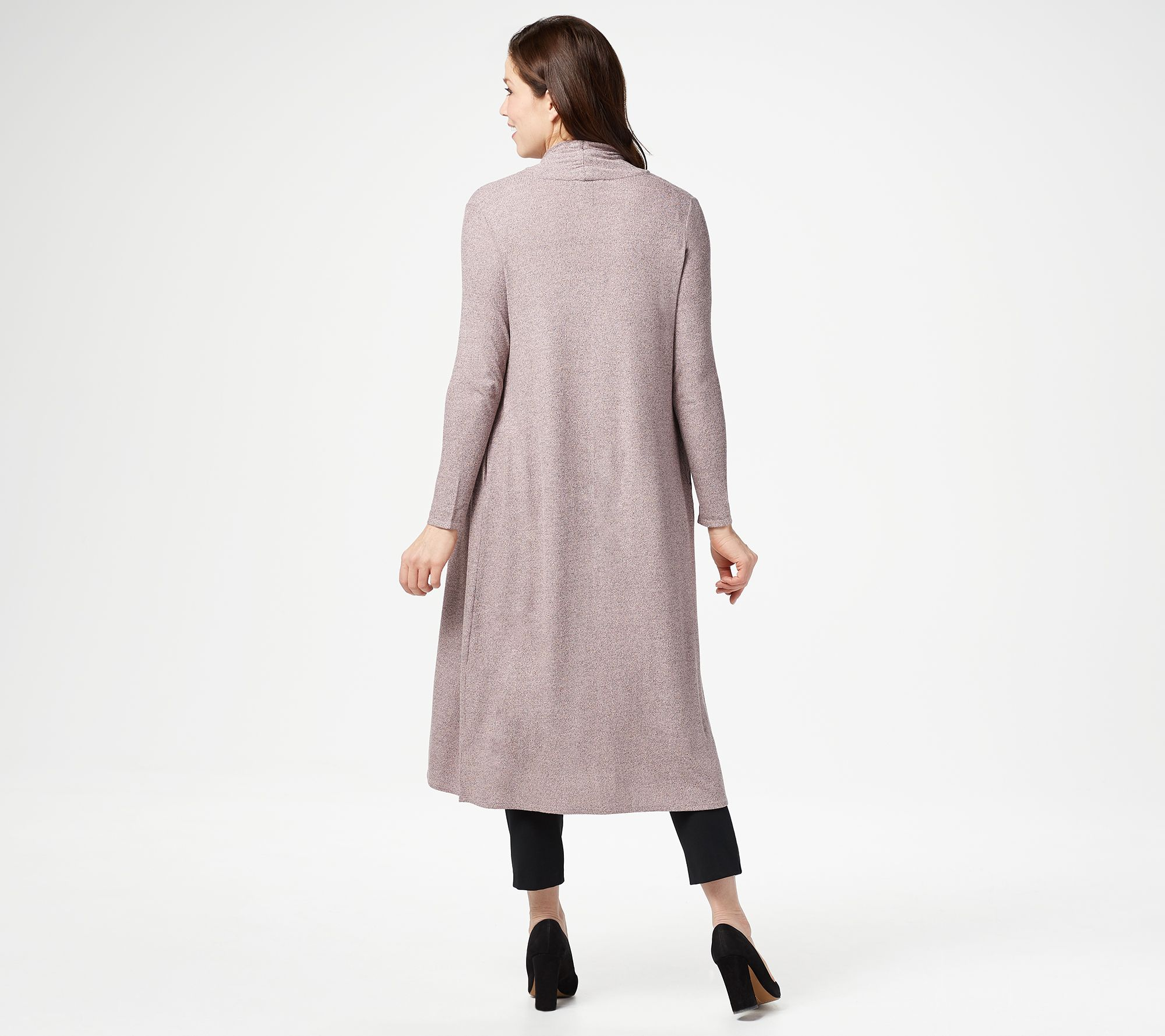 f2fea3fb7b54 Lisa Rinna Collection Open Front Duster Cardigan - Page 1 — QVC.com