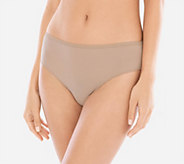 Soma Set of 4 Vanishing Edge Microfiber Hipster Panties - A352335