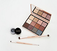 Doll 10 Pro Palette & Split Decision Eyeliner with Brushes - A367435