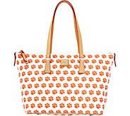 Dooney & Bourke NCAA Clemson University Zip Top Shopper - A283236