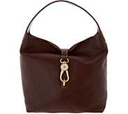 As Is Dooney & Bourke Florentine Logo Lock Shoulder Bag - A299136