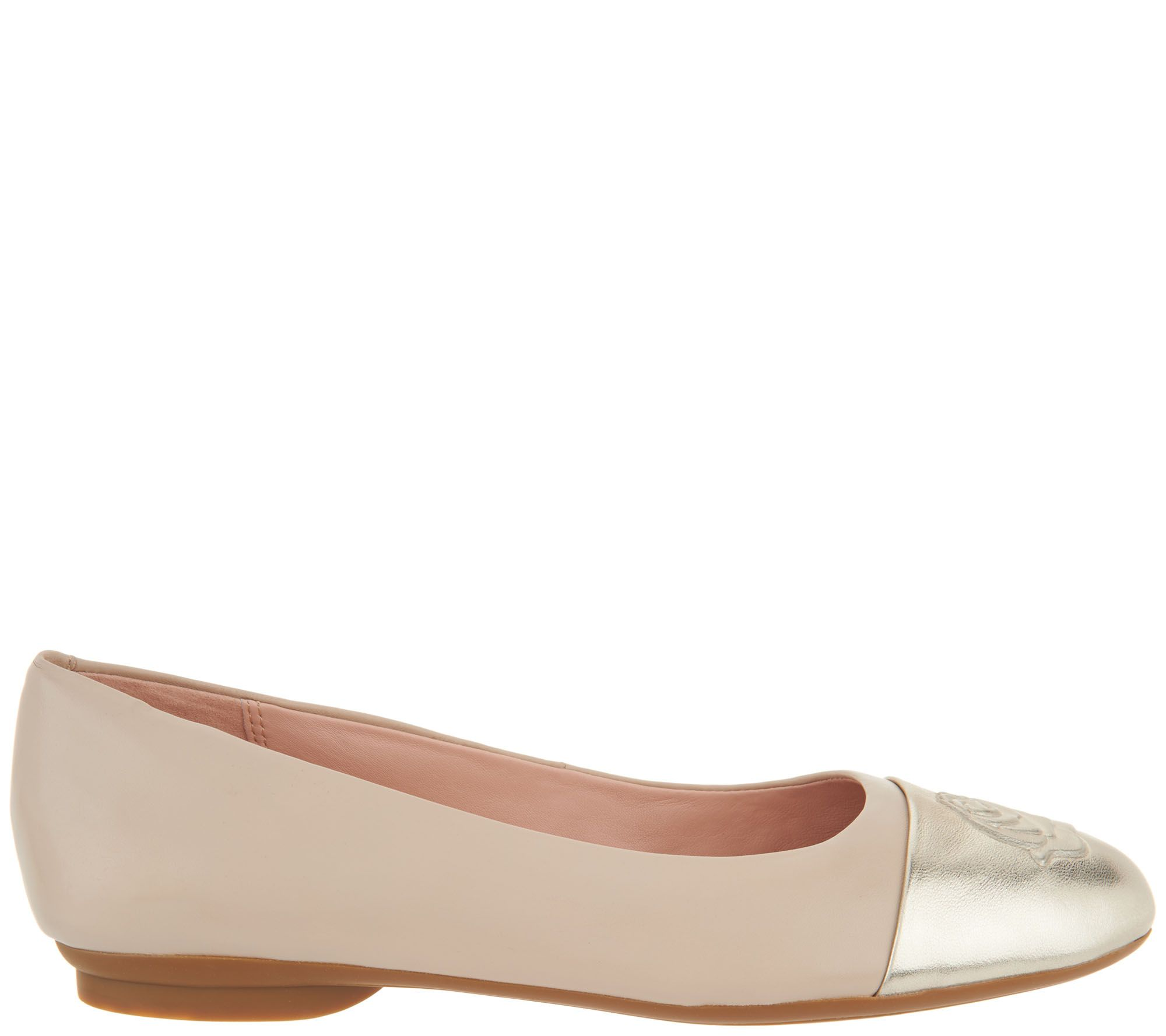 c2d606e58c4 Taryn Rose Leather Ballet Flats - Annabella - Page 1 — QVC.com