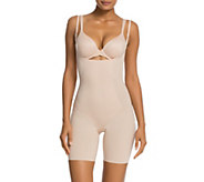 As Is Spanx Trust Your Thinstincts Mid-Thigh Bodysuit - A304636
