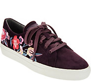 Skechers Embroidered Lace-Up Sneakers - A309536