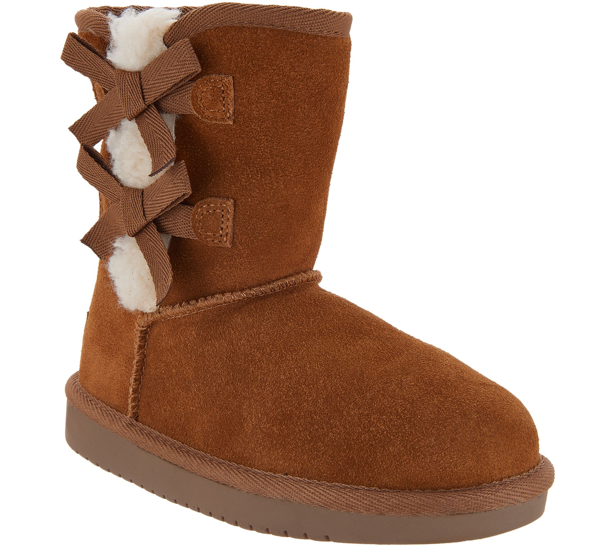 5919b61372a868 Koolaburra by UGG Kids Suede Bow Short Boots - Victoria - Page 1 ...