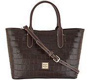 Dooney & Bourke Croco Embossed Leather Brielle Tote - A343036