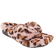 Vionic Terry Thong Slippers - Gracie Plush - A346936