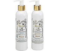 The Grecian Soap Company Goats Milk Lotion & Body Wash Set - A361936