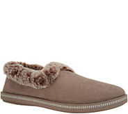 As Is Skechers Faux Fur Slippers- Cozy Campfire - A365736
