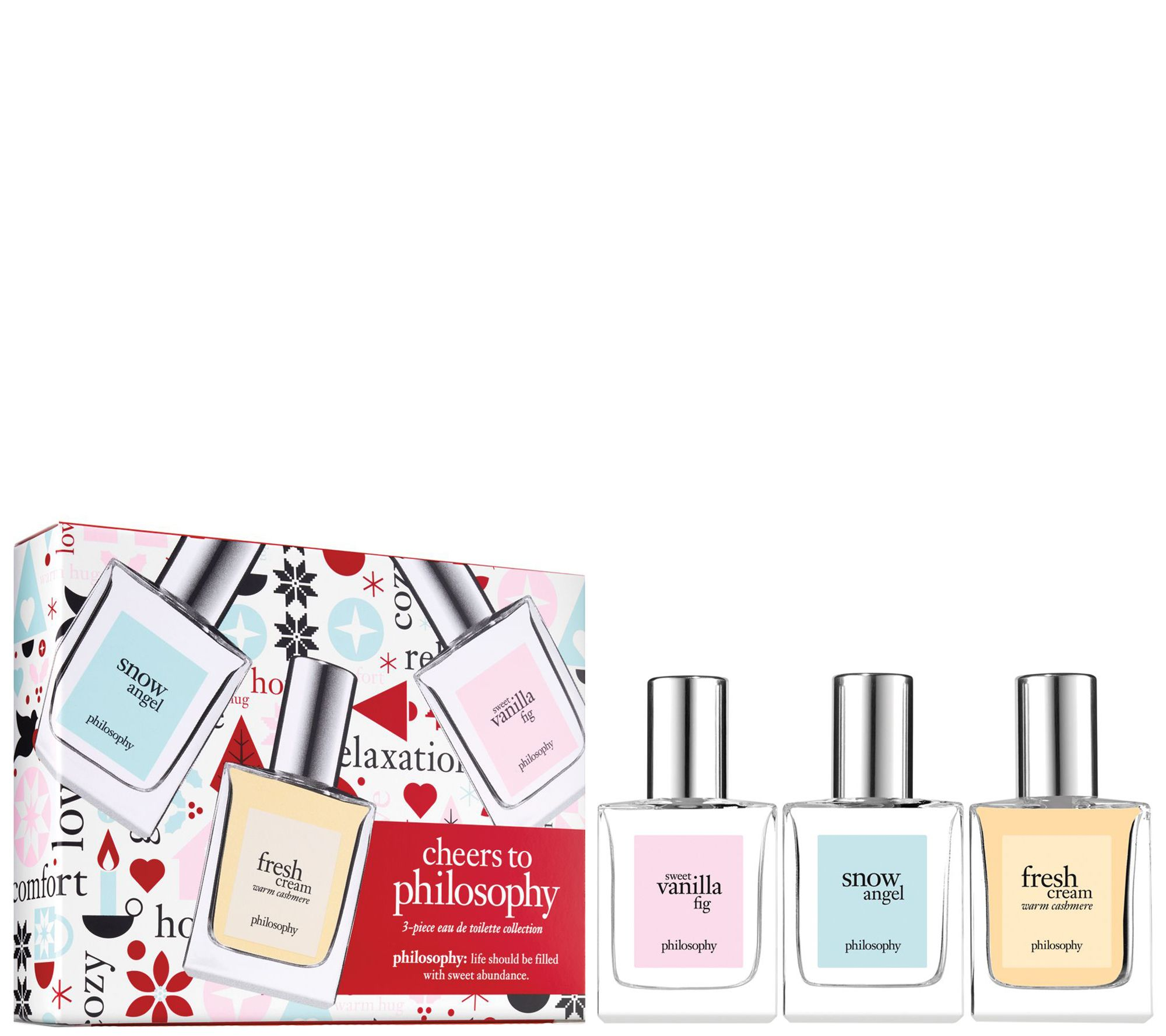 Philosophy piece fragrance gift set — qvc
