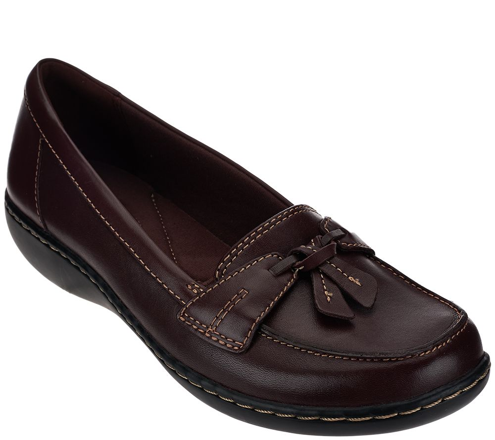 65e3d15c8cc Clarks Slip-on Loafers - Ashland Bubble - Page 1 — QVC.com