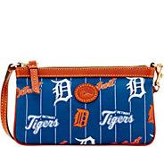 Dooney & Bourke MLB Nylon Tigers Large Slim Wristlet - A281637