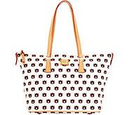 Dooney & Bourke NCAA Auburn University Zip Top Shopper - A283237