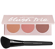 bareMinerals Gen Nude Powder Blush Palette w/ Dual Finish Blush Brush - A303637