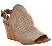 Miz Mooz Leather Wedge Sandals - Kona - A304337