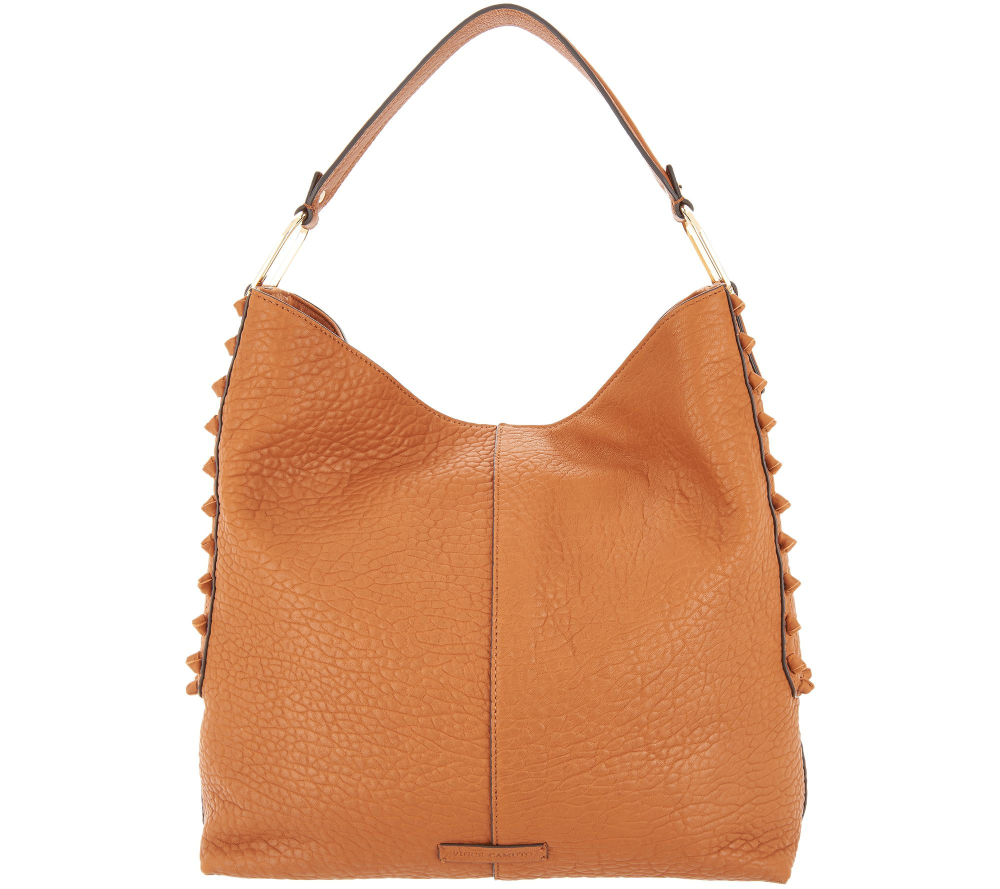Vince Camuto Leather Hobo Handbag - Axmin - Page 1 — QVC.com f1e7ab8197