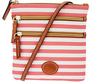 Dooney & Bourke Nylon North/South Triple Zip Crossbody Bag - A308737