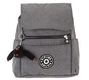 Kipling Nylon Foldover Backpack - Soma - A341837