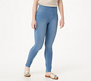 Laurie Felt Cambre Denim Ankle Skinny Pull-On Jeans - A346737