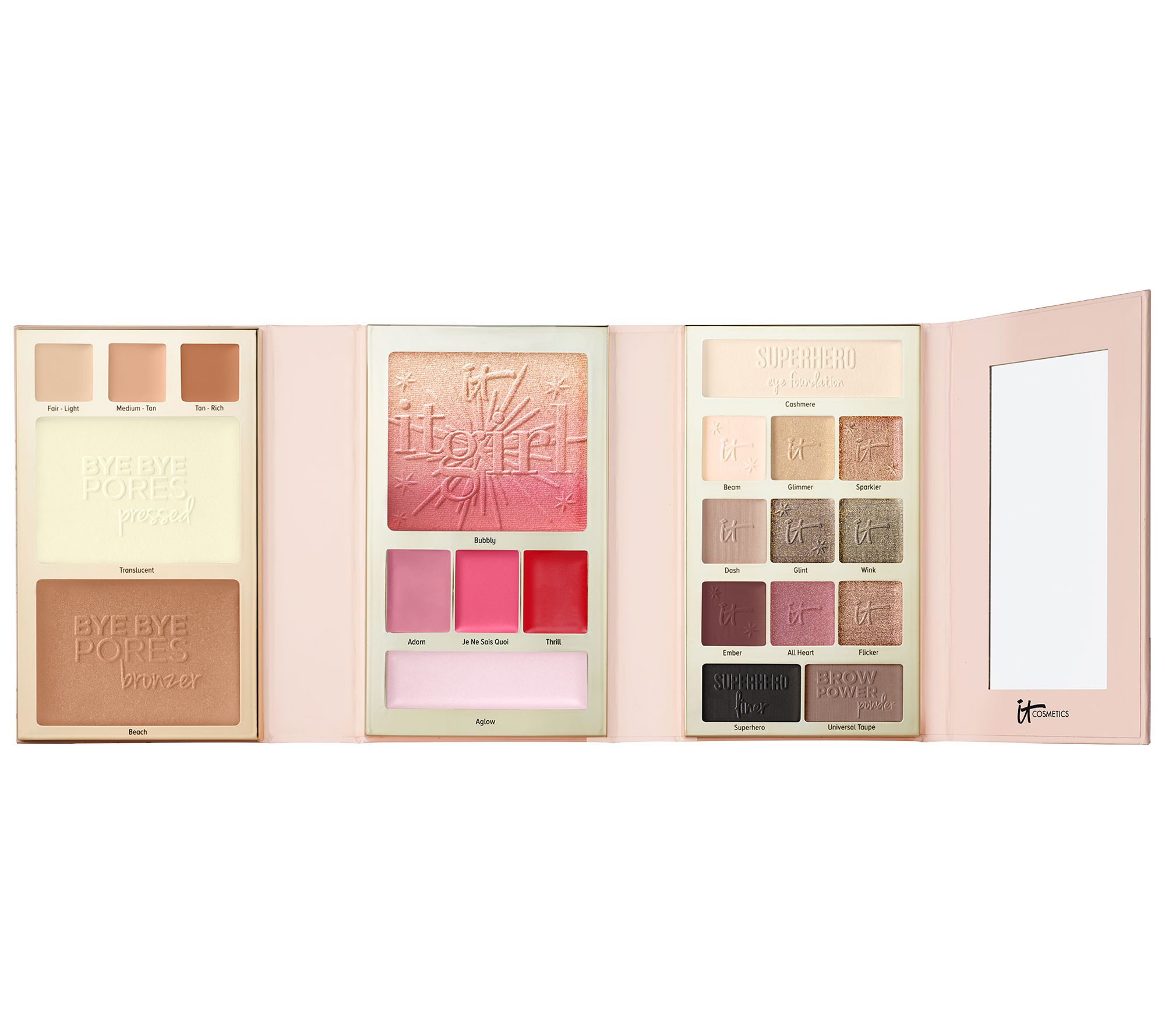 It Cosmetics Special Edition It Girl Holiday Beauty Book W/ Gift Box & Bow by It Cosmetics®Includes: