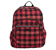 Vera Bradley Buffalo Check Iconic Campus Backpack - A440937