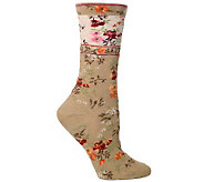 Ozone Design Set of 2 Mona Linen Socks - A242838
