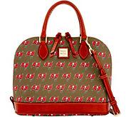 Dooney & Bourke NFL Buccaneers Zip Zip satchel - A285738