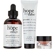 philosophy kissable skin face, lip, &eye treatment trio Auto-Delivery - A300738