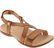 Spenco Orthotic Cross Strap Sandals - Grace - A304838
