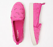 Koolaburra Kids Floral Slip-On Shoes - Amiah - A347238