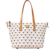 Dooney & Bourke NCAA University of Texas Zip Top Shopper - A283239