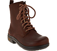 Alegria Leather Lace-up Boots - Ari - A285539