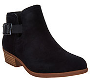 Clarks Suede Perforated Booties - Addiy Carisa - A303039