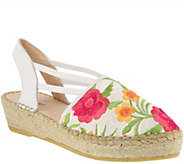 Azura by Spring Step Canvas and Leather Espadrilles - Haleema - A363239
