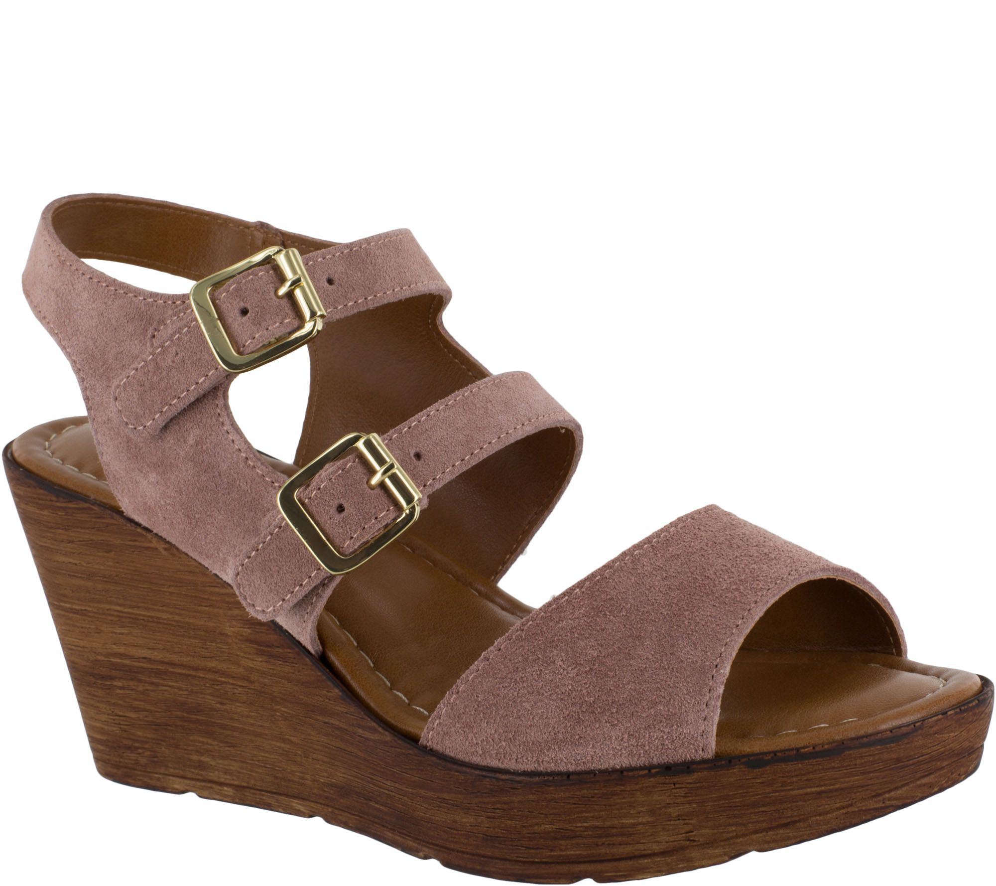 Wedge Vita Bella Ani Italy Leather Sandals P0ON8nwkX