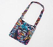 Vera Bradley Signature Print Zip Top Hipster Bag - A373939