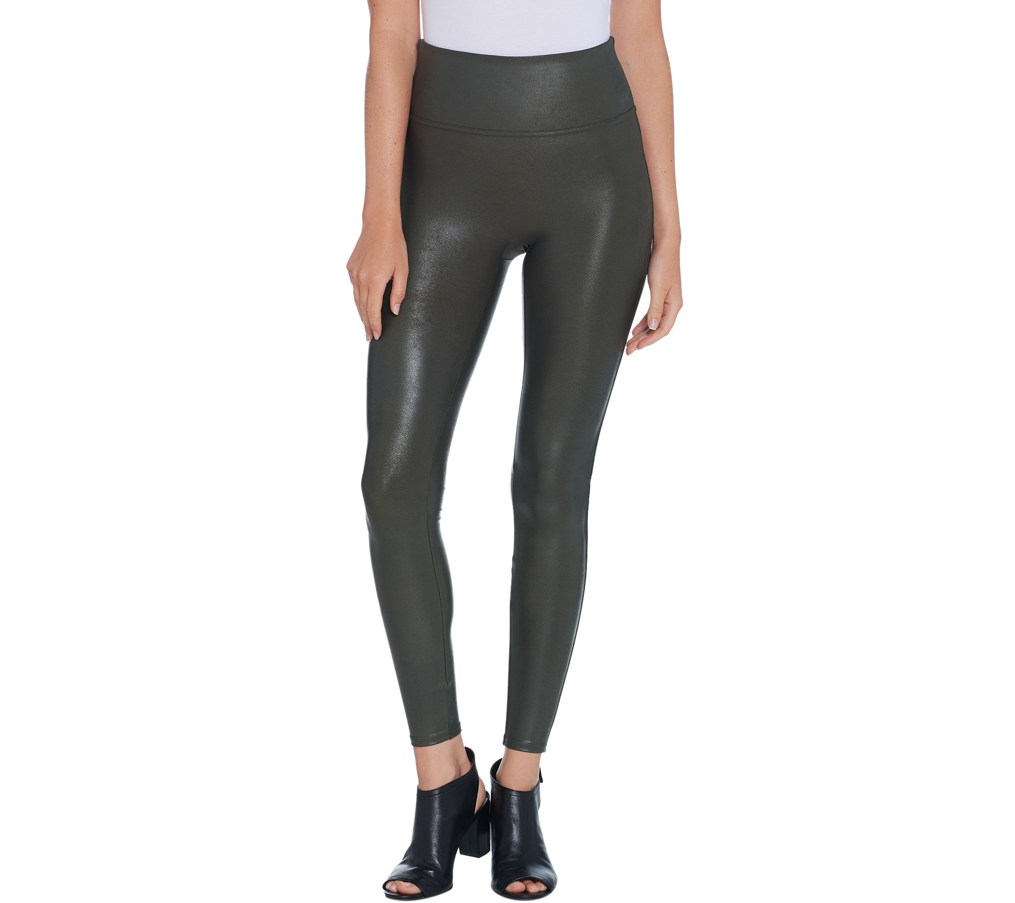 a77c1a3aab9c2 Spanx Faux Leather Leggings - Page 1 — QVC.com