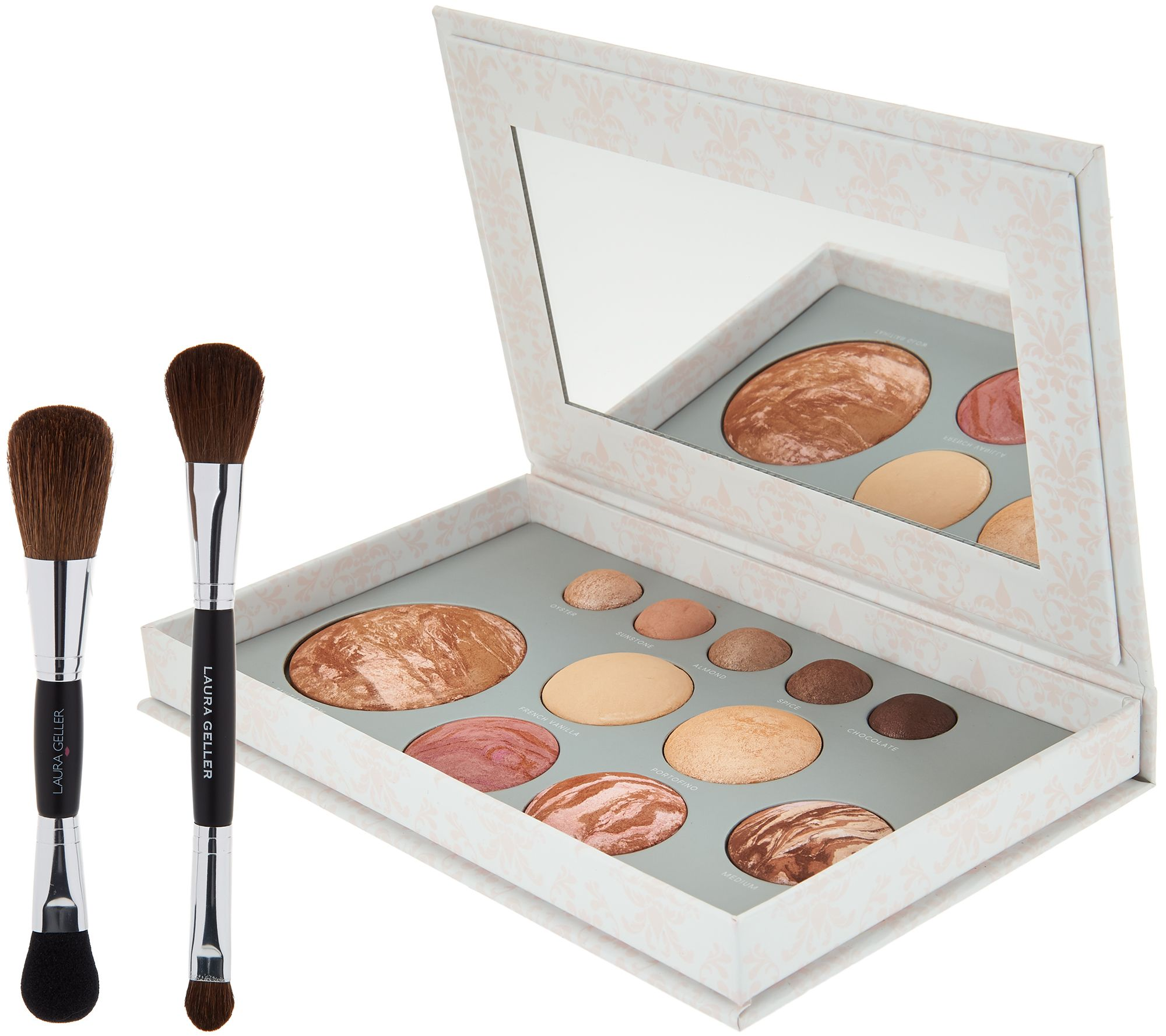 Laura Geller The Beauty Of Baked 12 Pc Palette W Brush Page 1 Qvc