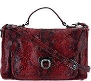 Aimee Kestenberg Leather Convertible Messenger Bag - A294940