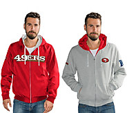 NFL Reversible Hoodie and Jacket in Team Colors - A295840