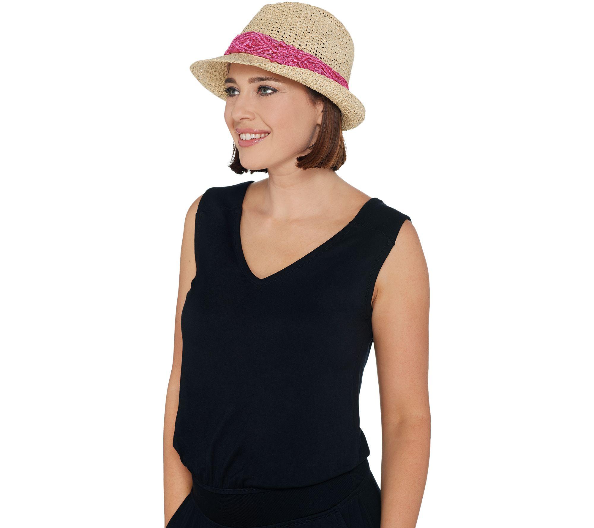 93fe00cc3 Physician Endorsed Makena Sun Hat with Trim — QVC.com