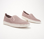 Skechers Perforated Slip-On Shoes - A351840