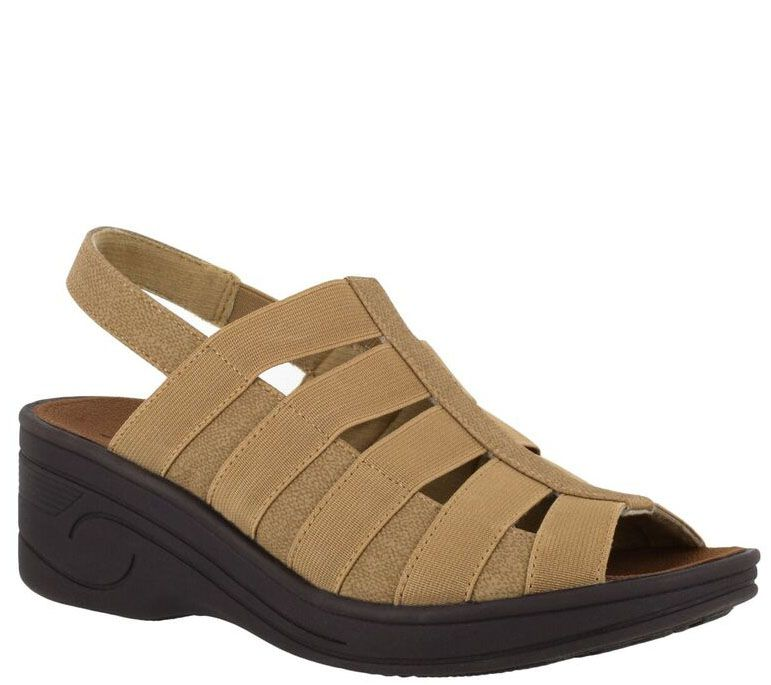 a6200673ca SoLite by Easy Street Wedge Sandals - Floaty - Page 1 — QVC.com